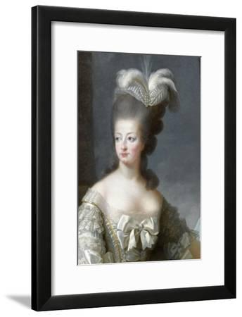 Marie-Antoinette de Lorraine-Habsbourg, archiduchesse d'Autriche, reine de France (1755-1795)-Brun Elisabeth Louise Vig?e-Le-Framed Giclee Print