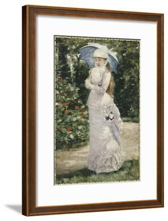 Madame Valtesse de la Bigne (1861-1910)-Henri Gervex-Framed Giclee Print