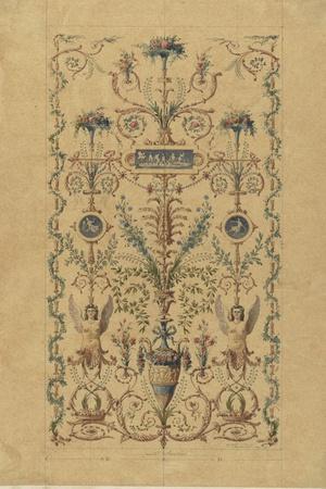Monographie du palais de Fontainebleau : Cabinet de la Salle du Conseil-Rodolphe Pfnor-Stretched Canvas Print