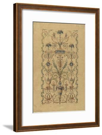Monographie du palais de Fontainebleau : Cabinet de la Salle du Conseil-Rodolphe Pfnor-Framed Giclee Print