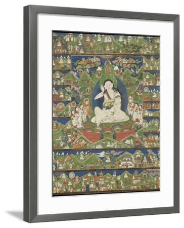 Mi-la ras-pa (1040-1123) (Milarepa)--Framed Giclee Print