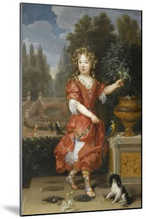 Mademoiselle de Blois-Pierre Mignard-Mounted Giclee Print