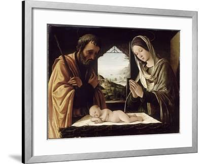 La Nativité-Lorenzo Costa-Framed Giclee Print