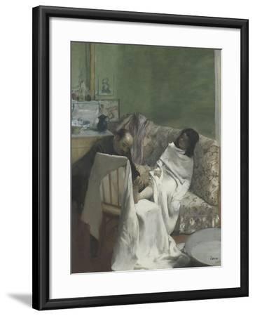 Le pédicure-Edgar Degas-Framed Giclee Print