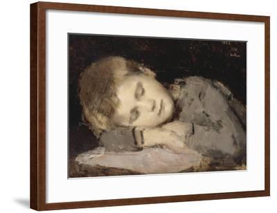 Paul Henner endormi-Jean Jacques Henner-Framed Giclee Print
