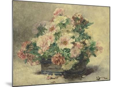 Pivoines-Georges Jeannin-Mounted Giclee Print
