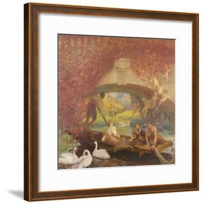 Le poète-Gaston De La Touche-Framed Giclee Print