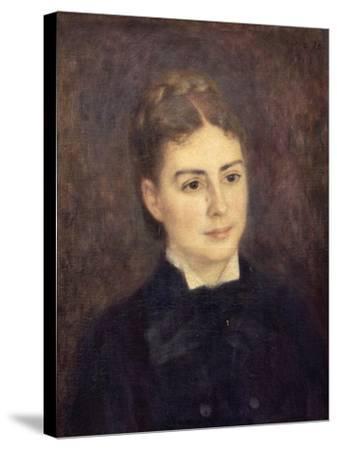 Portrait de madame Paul Bérard-Pierre-Auguste Renoir-Stretched Canvas Print