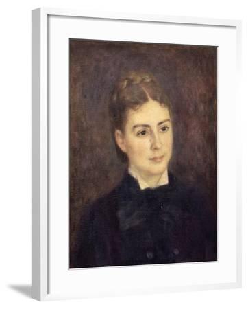 Portrait de madame Paul Bérard-Pierre-Auguste Renoir-Framed Giclee Print