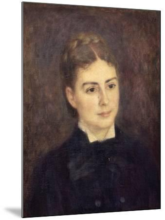 Portrait de madame Paul Bérard-Pierre-Auguste Renoir-Mounted Giclee Print