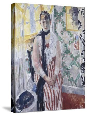 Portrait de madame Moreau Wouters-Rik Wouters-Stretched Canvas Print