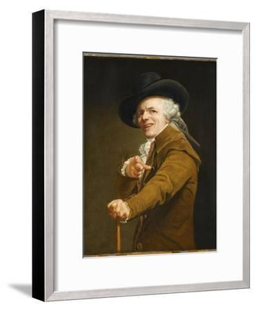 Portrait of the Artist in the Guise of a Mockingbird-Joseph Ducreux-Framed Giclee Print