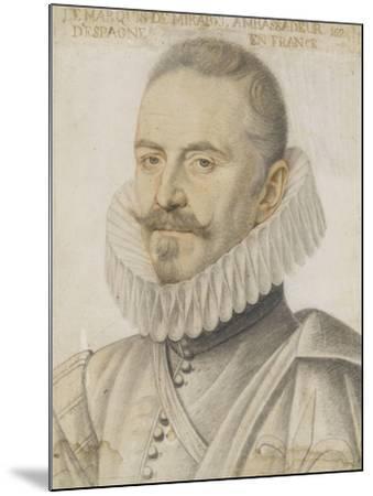 Portrait du marquis de Mirabel-Daniel Dumonstier-Mounted Giclee Print