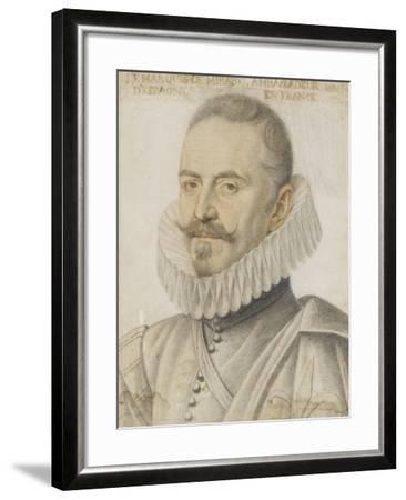Portrait du marquis de Mirabel-Daniel Dumonstier-Framed Giclee Print