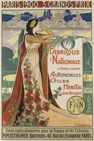 Affiche publicitaire Herstal--Stretched Canvas Print