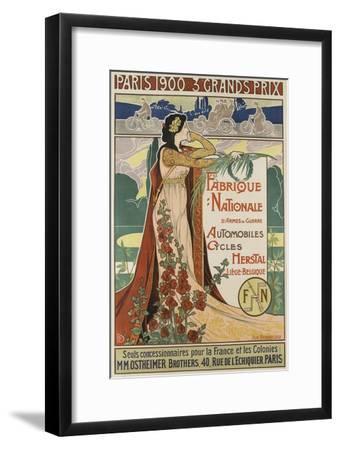 Affiche publicitaire Herstal--Framed Giclee Print