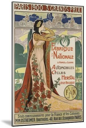 Affiche publicitaire Herstal--Mounted Giclee Print