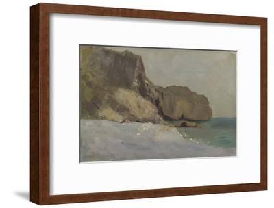 Rochers de Vallières, prés de Royan-Odilon Redon-Framed Giclee Print