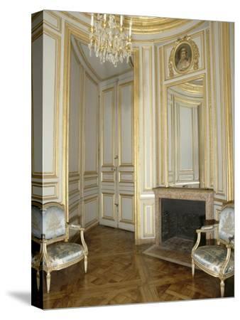 Opéra royal du château de Versailles : le boudoir du Roi--Stretched Canvas Print