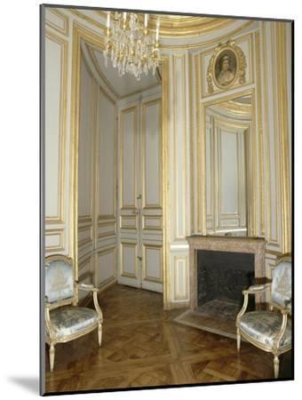 Opéra royal du château de Versailles : le boudoir du Roi--Mounted Giclee Print