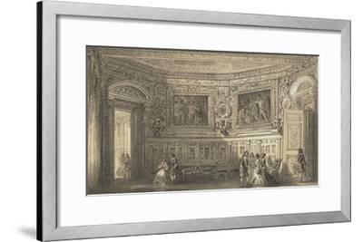 Salon Louis XIII--Framed Giclee Print