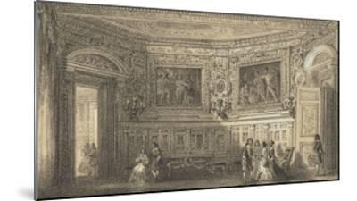 Salon Louis XIII--Mounted Giclee Print