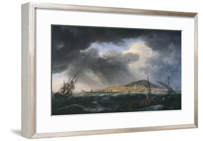 Port de Sète-Claude Joseph Vernet-Framed Giclee Print