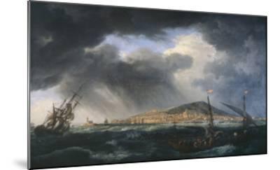 Port de Sète-Claude Joseph Vernet-Mounted Giclee Print