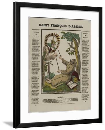 Saint François d'Assise--Framed Giclee Print