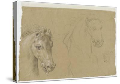 Etudes pour la tête d'un cheval-Pierre Mignard-Stretched Canvas Print