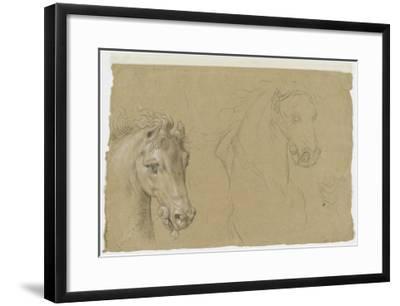 Etudes pour la tête d'un cheval-Pierre Mignard-Framed Giclee Print