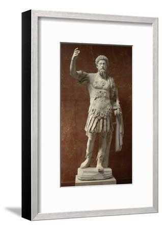 Statue of Marcus Aurelius, Emperor from 161-180 Ad--Framed Giclee Print