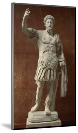Statue of Marcus Aurelius, Emperor from 161-180 Ad--Mounted Giclee Print