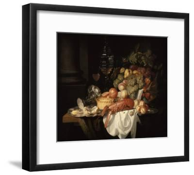 Nature morte au homard-Johannes Hannot-Framed Giclee Print