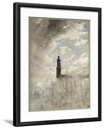 Etude de paysage-Gustave Moreau-Framed Giclee Print