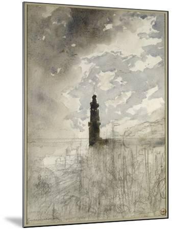 Etude de paysage-Gustave Moreau-Mounted Giclee Print