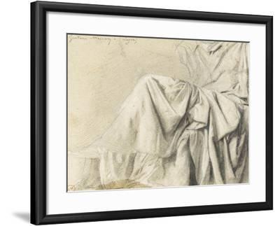 Study of Drapery for Odysseus Recognized by Eurycleia-Gustave Moreau-Framed Giclee Print