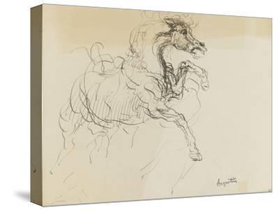 Etude de cheval-Louis Anquetin-Stretched Canvas Print