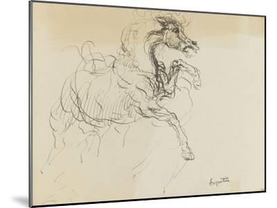 Etude de cheval-Louis Anquetin-Mounted Giclee Print