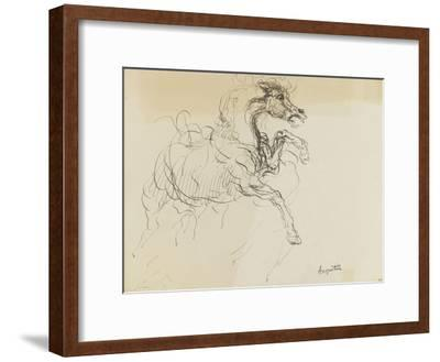 Etude de cheval-Louis Anquetin-Framed Giclee Print