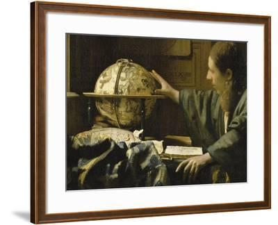 L'astronome dit aussi l'Astrologue-Johannes Vermeer-Framed Giclee Print