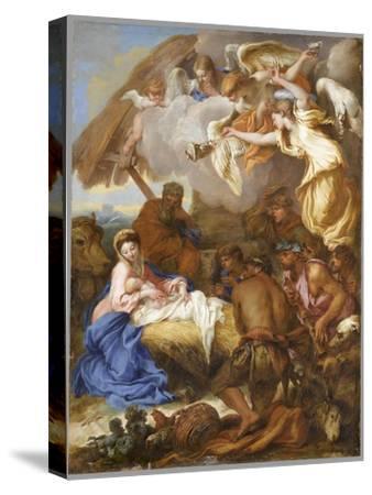 L'Adoration des Bergers-Giovanni Benedetto Castiglione-Stretched Canvas Print