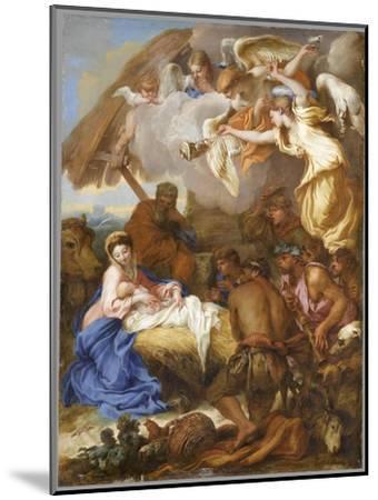L'Adoration des Bergers-Giovanni Benedetto Castiglione-Mounted Giclee Print