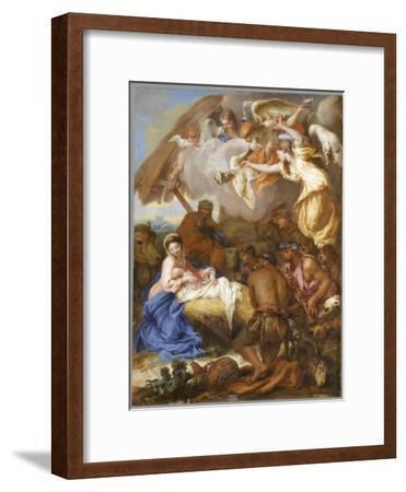 L'Adoration des Bergers-Giovanni Benedetto Castiglione-Framed Giclee Print