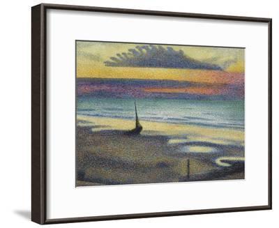 La Plage à Heist-Georges Lemmen-Framed Giclee Print