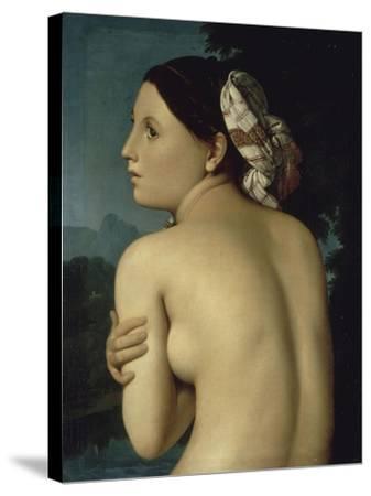 La Baigneuse-Jean-Auguste-Dominique Ingres-Stretched Canvas Print