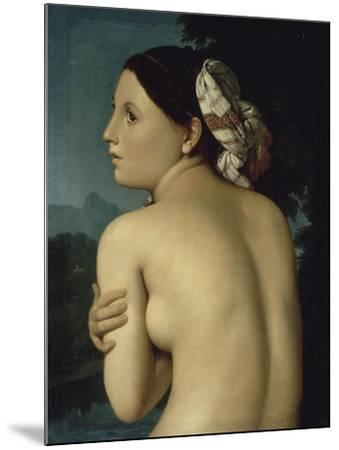 La Baigneuse-Jean-Auguste-Dominique Ingres-Mounted Giclee Print
