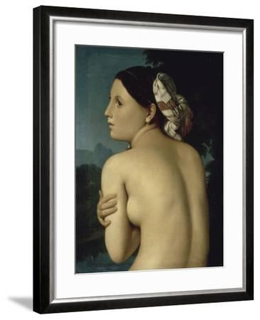 La Baigneuse-Jean-Auguste-Dominique Ingres-Framed Giclee Print