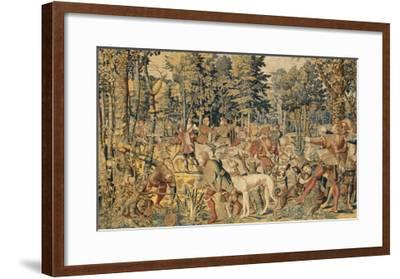 "Les Chasses de Maximilien dites ""Belles chasses de Guise""-Orley Barend Van-Framed Giclee Print"