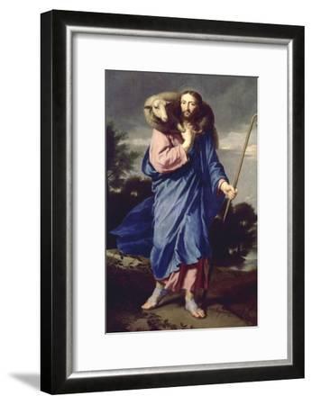 Le Bon Pasteur-Philippe De Champaigne-Framed Giclee Print